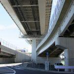 広島高速2号線 【大州地区】 開通した矢賀大州線とその付近