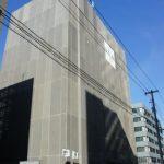 広島駅北口、建設中の駿台予備校