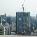 京橋町地区市街地再開発 2013.08(Vol.9) 躯体21階到達!