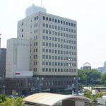 『広島ピースタワー』改修前、現状の様子。