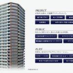 地上26階建て、『ザ・パークハウス広島タワー』 完成予想図