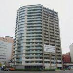 ザ・パークハウス広島駅前通り 2013.11(Vol.8) ほぼ完成。特徴的な外壁