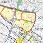 二葉の里土地区画整理事業 Vol.6 【4・5街区】 支社ビル前の拡張進む