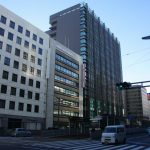 トランヴェールビル2軒東側、損保ジャパンビルの様子(建て替え?)