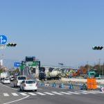 広島南道路(広島高速)建設工事 【商工センター地区】 2014.03 青空に映える…