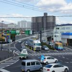 広島高速2号線 【東雲地区】 間近で見る立体交差