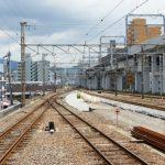 横川駅配線変更工事 2014.06