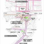 橋上化されるJR廿日市駅 準備工事始まる