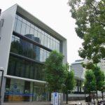 平和大通りの大成建設 新社屋。跡地は上野学園が取得