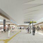 """今秋に部分供用開始、""""新しい広島駅""""を想像する"""