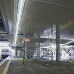 広島橋上駅新築他工事 2014.09(Vol.41) 新階段・エスカレーターなど