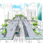広島駅南口広場の基本方針!広電の高架と駅ビル建て替え、デッキ計画などまとまる