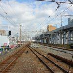 横川駅改良工事 2014.10(Vol.6) 分岐器が本線へ組み込み