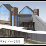 JR廿日市駅南北自由通路 新設工事 2014.10(Vol.2) 仮駅舎へ