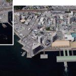 世界遺産への入り口『宮島口』で進む埋立工事 フェリー桟橋移設へ