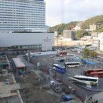 広島駅北口広場改良工事 2014.12(Vol.15)シェラトン側に動き