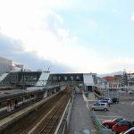 西条駅北口の整備状況 2014.12 バスシェルター設置