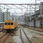 横川駅改良工事 2014.12(Vol.8) 上下線分離完了
