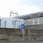 新白島駅建設工事 2015.01(Vol.20) JR北口があらわに