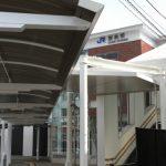祝開業! JR西条駅北口広場 広島空港アクセスバスに期待