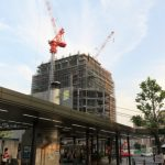 広島駅南口Bブロック再開発工事 2015.05(Vol.29) 13階・住居部へ