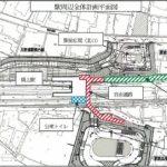 JR大野浦駅、橋上化に向け着工