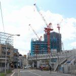 広島駅南口Bブロック再開発工事 2015.09(Vol.33) 28階まで