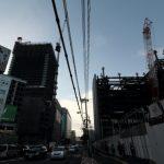 広島駅南口Cブロック再開発 2015.09(Vol.20) 高さ増す