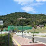 広島高速5号線建設工事 【広島駅北口】 2015.09 橋脚の建設進む