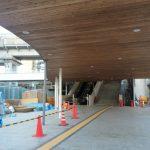 新白島駅建設工事 2015.10(Vol.28) 完成間近!照明・サインなど