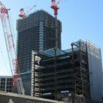 広島駅南口Cブロック再開発 2015.10(Vol.21) 住宅棟15階到達