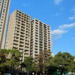 中町60m級タワーマンション3棟 建設状況 2015.11 ソシオタワー中町が竣工