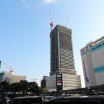 広島駅南口Bブロック再開発工事 2016.01(Vol.38) シティタワー、46階に到達