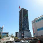 広島駅南口Bブロック再開発工事 2016.03(Vol.40) 最上階に到達!
