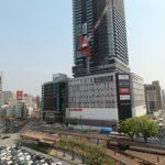 広島駅南口Bブロック再開発工事 2016.05(Vol.42) クレーン解体へ