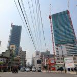 広島駅南口Cブロック再開発 2016.05(Vol.28) まもなく40階へ