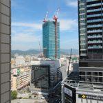 広島駅南口Cブロック再開発 2016.06(Vol.29) 住宅棟40階突破