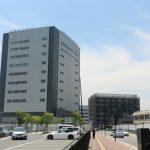 広島駅北 二葉の里5街区再開発 2016.06 (Vol.5) エネコムの外観完成