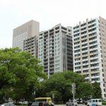 中町60m級タワーマンション3棟 建設状況 2016.09 パークホームズ中町ほぼ完成