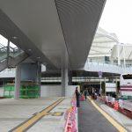 広島駅北口改良工事 2016.11(Vol.44) バスのりばの整備本格化