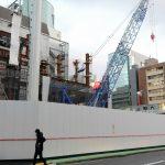 スタートラム広島 新築工事 2016.11(Vol.6) 鉄骨地上へ!