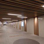 広島駅南口Cブロック再開発 2017.02(Vol.38) 地下通路のリニューアル完了