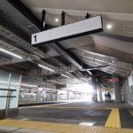 広島駅自由通路新築・橋上化工事 2017.04(Vol.77) 自由通路階段スペースなど