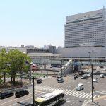 広島駅北口改良工事 2017.06(Vol.48) バス・タクシーエリアほぼ完成