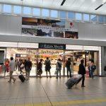 広島駅自由通路新築・橋上化工事 2017.06(Vol.84) 『Calbee+』など駅ナカに複合店オープン!