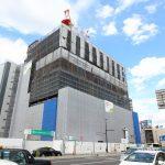 広島駅北 二葉の里5街区再開発 2017.07 (Vol.13) 広テレ新社屋が上棟!外壁設置など