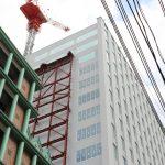 スタートラム広島 新築工事 2017.07(Vol.12) タワーパーキング構築