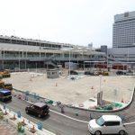 広島駅北口改良工事 2017.08(Vol.50) 路面改良など整備大詰め