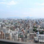 高さ90mの眺望!ビル最上階のレストラン『BlueSkySeaSこあみ』に行ってきました。