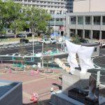 広島駅北口改良工事 2017.09(Vol.51)<駅前広場編> 駐車場などほぼ完成